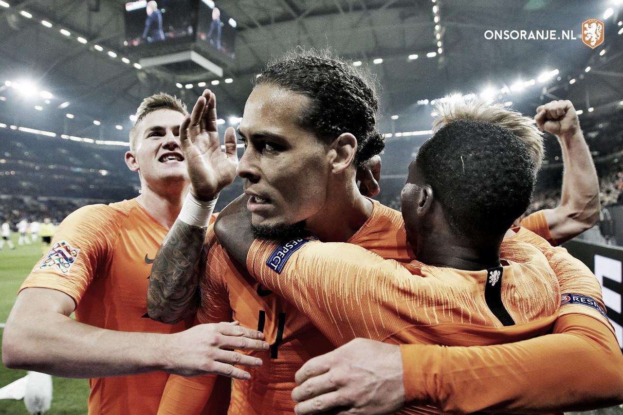 Alemania 2 Holanda 2 Foto:@OnsOranje