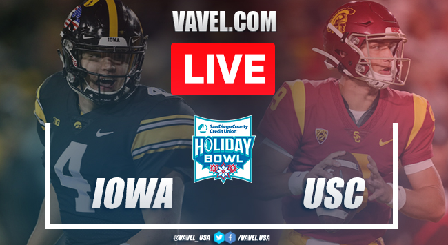 Iowa vs. USC: LIVE Stream and Score Updates (49-24)