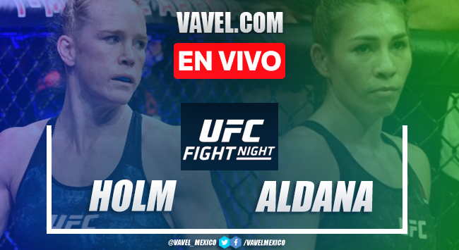 Resumen y Resultado: Holly Holm vs Irene Aldana en UFC Fight Island 4