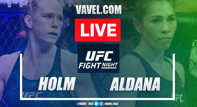 Result and Highlights: Holly Holm vs Irene Aldana in UFC Fight Island 4