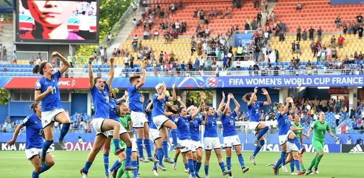 Women's World Cup: Italy 2-0 China