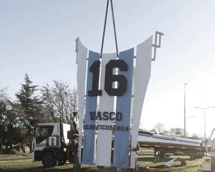 Vasco homenajeado