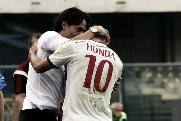 Serie A: Milan quarto. Pareggio per la Sampdoria. Prima vittoria del Palermo