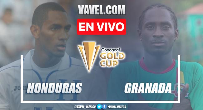 Goles y resumen del Honduras 4-0 Granadaen Copa Oro 2021