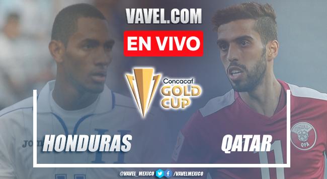 Goles y resumen del Honduras 0-2 Qatar en Copa Oro 2021
