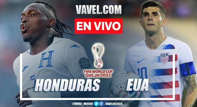 Goles y resumen del Honduras 1-4 Estados Unidos en Eliminatorias Qatar 2022