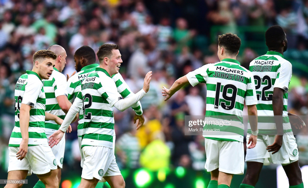 Celtic 5 - 0 Nomme Kalju: Five-star Hoops romp to first-leg victory