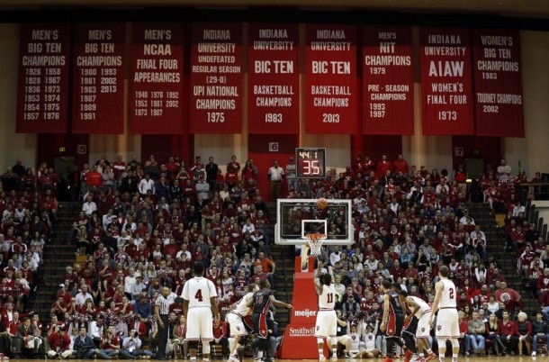 Result Morehead State Eagles 59-92 Indiana Hoosiers in 2015 College Basketball