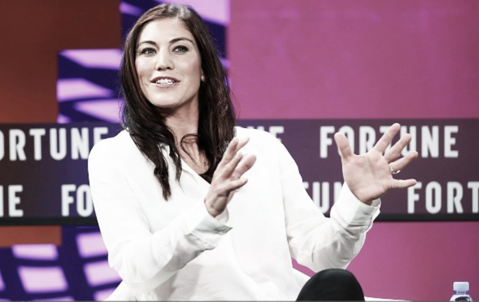 Hope Solo announced as official candidate for 2018 U.S. Soccer Presidential Election