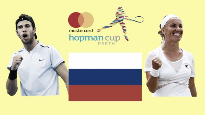 Hopman Cup: Svetlana Kuznetsova and Karen Khachanov looks to bring glory to Russia