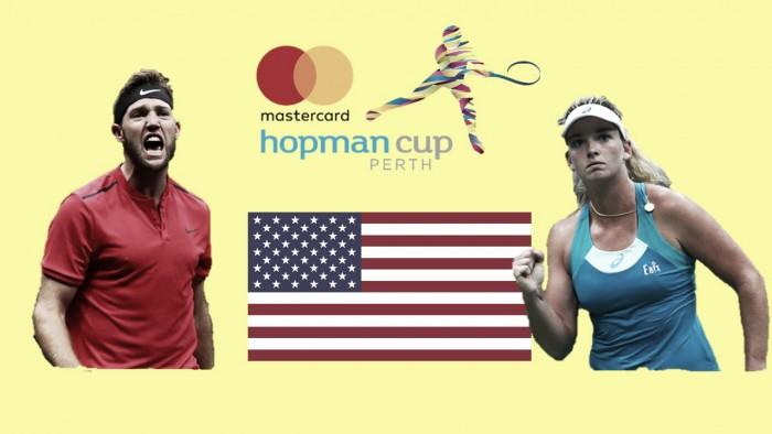Hopman Cup: Jack Sock and Coco Vandeweghe leads USA's charge