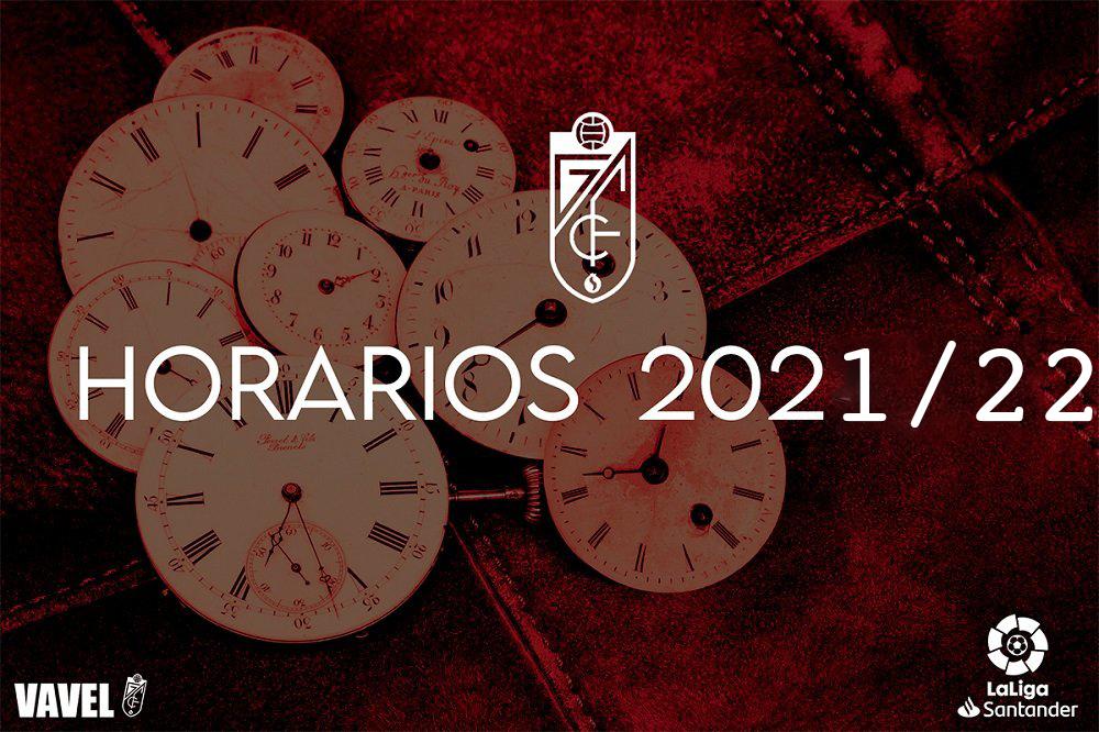 Calendario del Granada CF, temporada 2021/2022