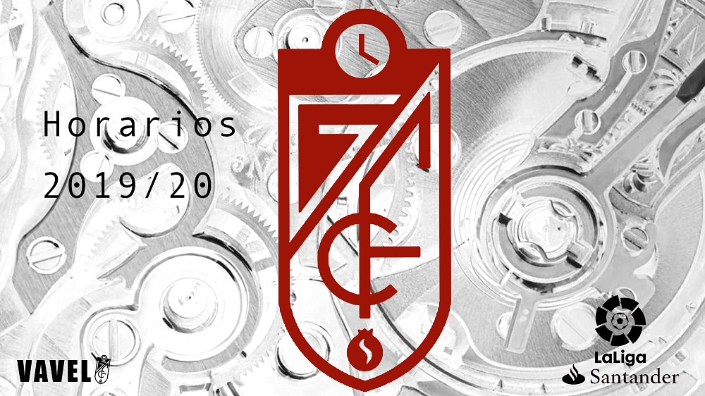 Calendario completo Granada CF, temporada 2019/2020