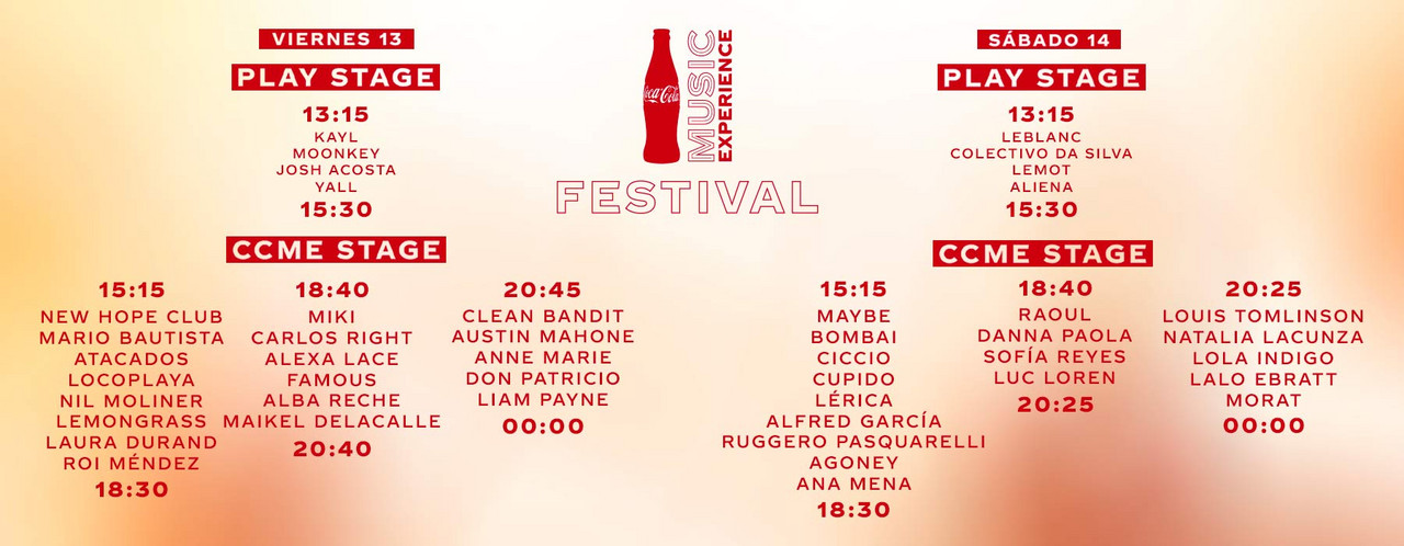 "El Coca-Cola Music Experience cuelga el cartel de ""sold out"""