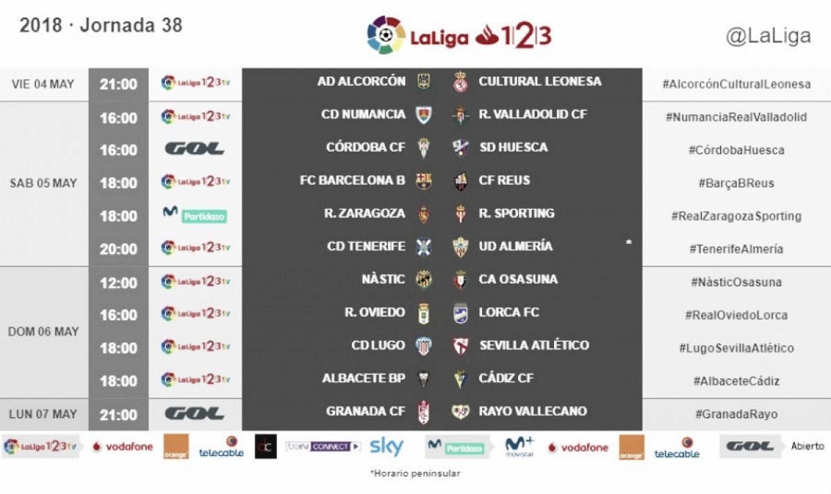 Publicado el horario para el partido en La Romareda