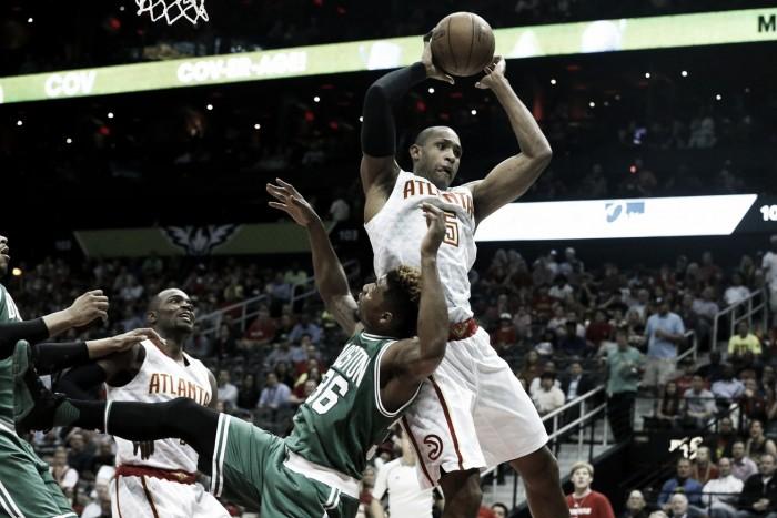 Atlanta Hawks and Boston Celtics get ready for Game 3