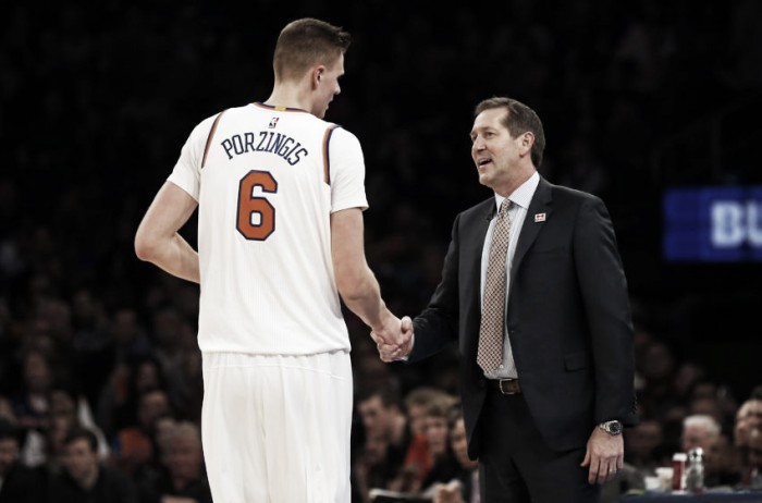 NBA - New York Knicks, il futuro è Kristaps Porzingis