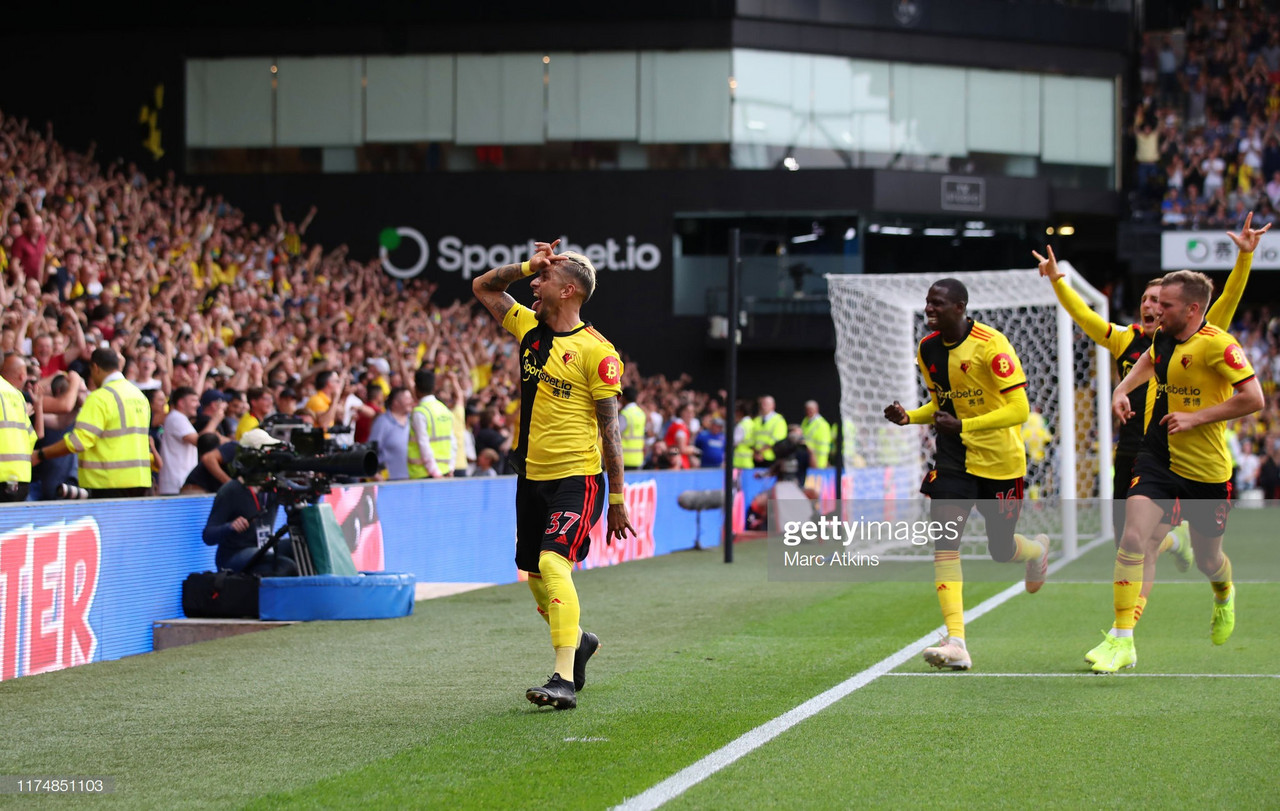 Watford 2-2 Arsenal: Spirited Hornets fight back for point