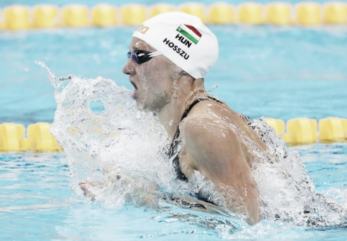 Rio 2016: Hosszu storms to 400m Individual Medley gold in world-record time