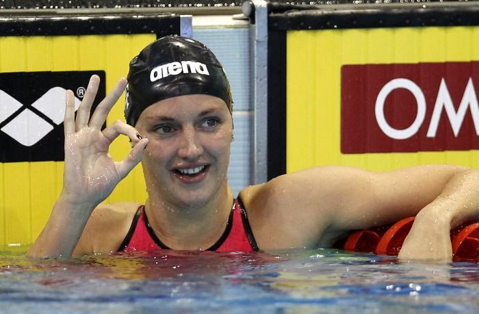 Nuoto, Coppa del Mondo in vasca corta - Berlino 2° giornata: sempre Hosszu, quattro vittorie per l'ungherese