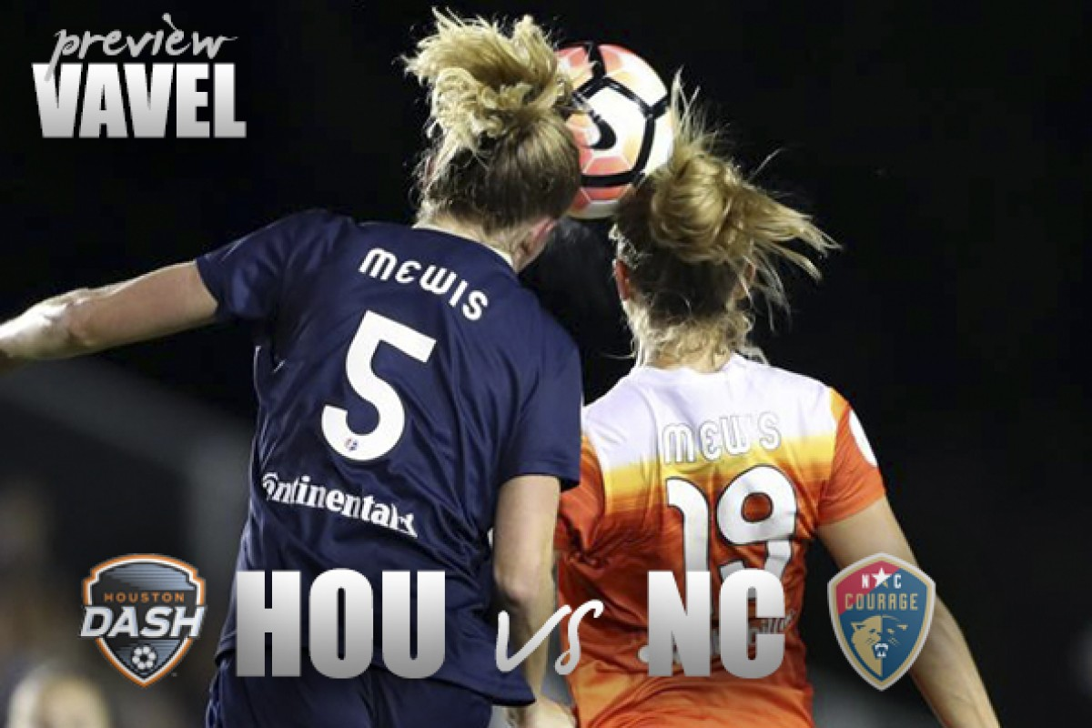 Houston Dash vs North Carolina Courage: Opposite ends of the table meet