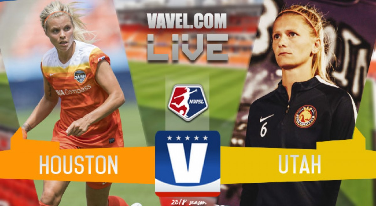 Houston Dash 0-0 Utah Royals FC in 2018 NWSL