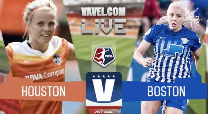 Score Houston Dash 0-0 Boston Breakers in 2017 NWSL
