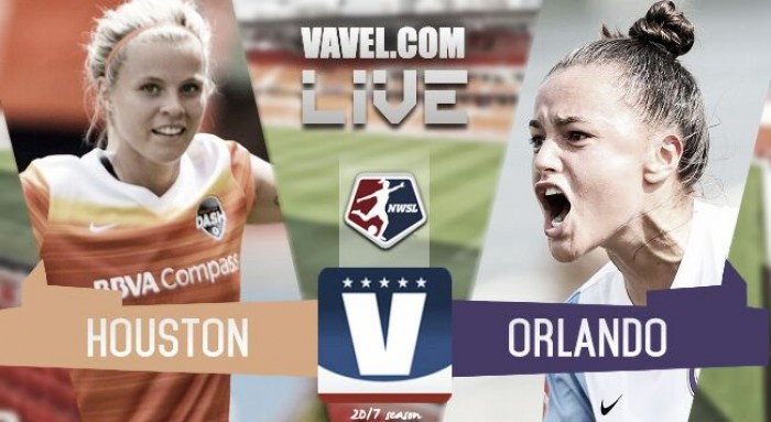 Houston Dash 2-4 Orlando Pride Live Stream Score Commentary in NWSL 2017