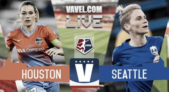 Score Houston Dash vs Seattle Reign in 2017 in NWSL (0-2)