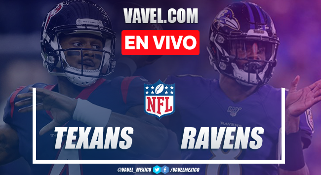 Resumen y touchdowns: Houston Texans 7-41 Baltimore Ravens en NFL 2019