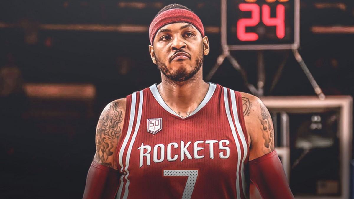 Fim da novela: Carmelo assina com Houston Rockets por uma temporada