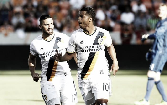 Giovani Dos Santos, Sebastian Lletget and Baggio Husidic shine for Los Angeles Galaxy against Houston Dynamo