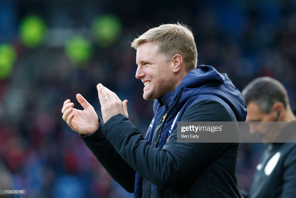 "Travelling Bournemouth fans ""rewarded with really good performance"" says Howe"