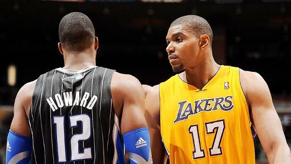 Dwight Howard, nuevo jugador de los Lakers