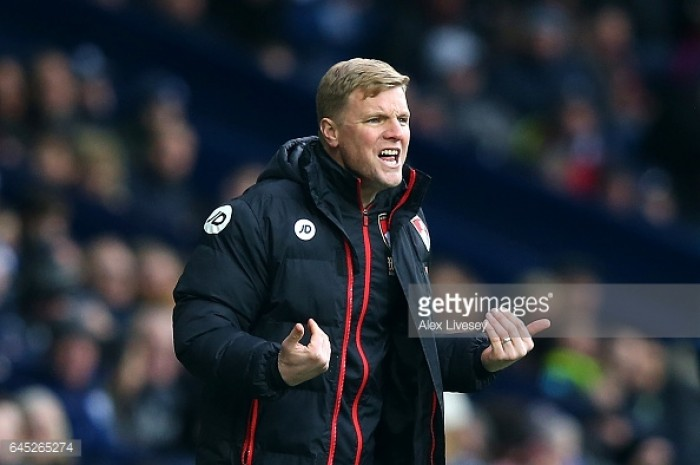 Eddie Howe refuses to budge on philosophy as Bournemouth lose again