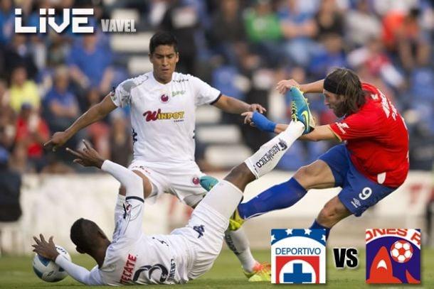 Resultado Cruz Azul - Veracruz en Liga MX 2014 (0-0)