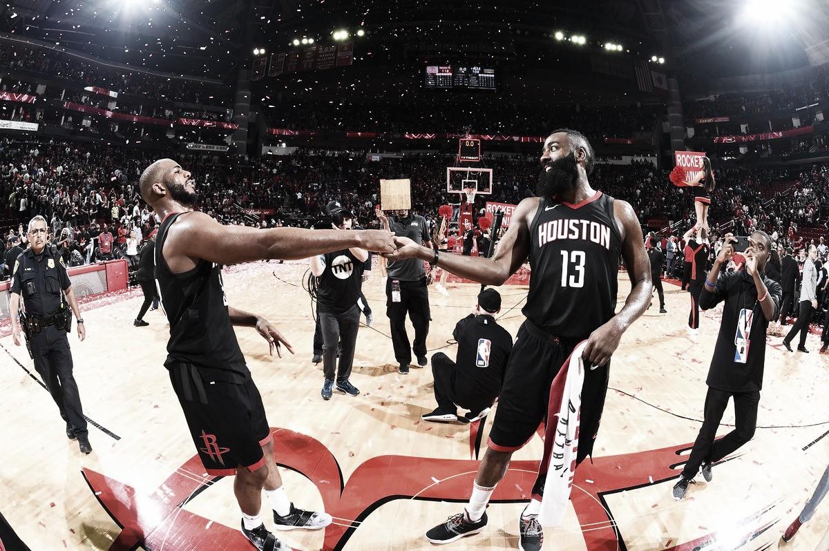 NBA playoffs, Houston chiude i conti con i Jazz in gara-5 (112-102)