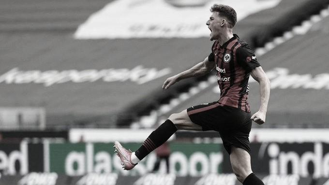 Eintracht Frankfurt busca empate com Mainz e deixa grupo de vaga à Uefa Champions League