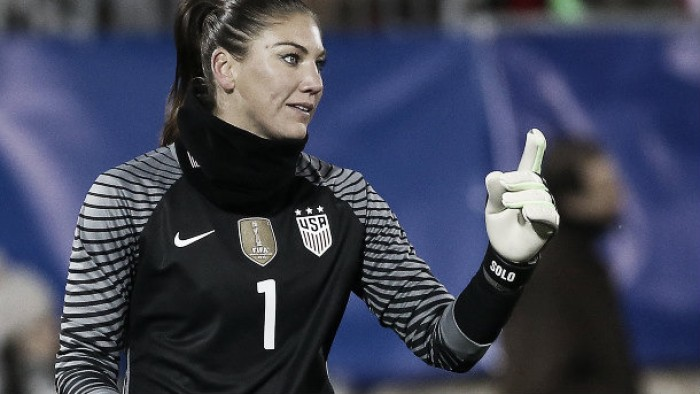 Hope Solo suspended by US Soccer for six months