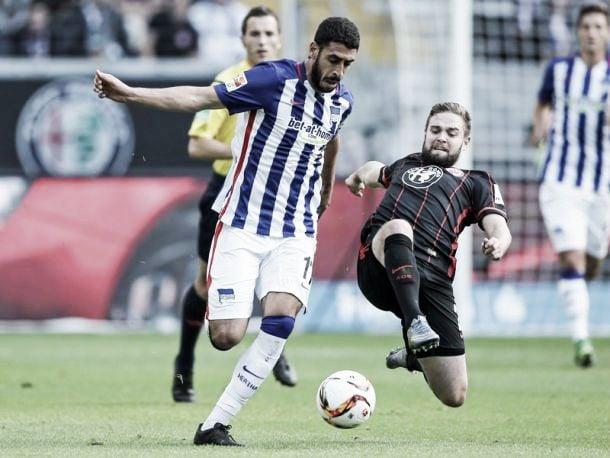 Eintracht Frankfurt 1-1 Hertha BSC: Late Darida equaliser levels mid-table clash
