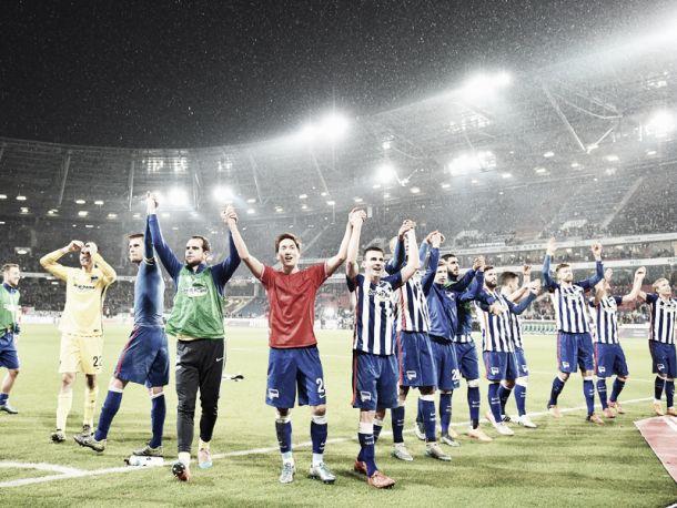 Hannover 96 1-3 Hertha BSC - Soloman Kalou inspired Hertha down die Roten