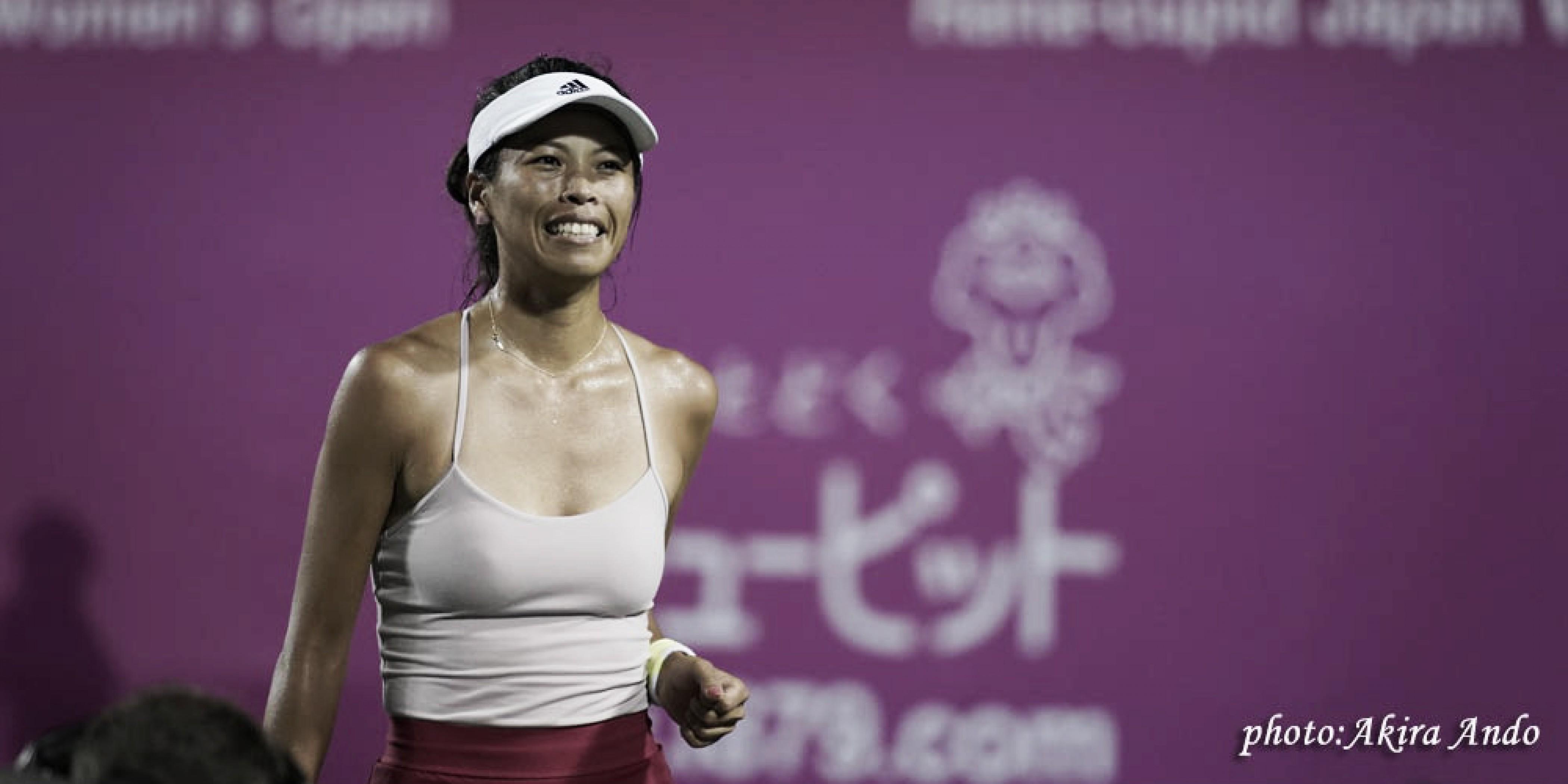 Hsieh completa jornada dupla, vence Wang e vai à final em Hiroshima