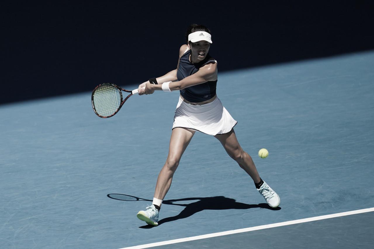 Em seu primeiro torneio após 15 meses, Andreescu cai para Hsieh na segunda rodada do Australian Open