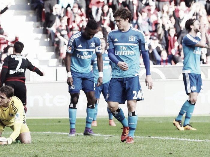 Bayer Leverkusen 1-0 Hamburger SV: Lucky Leverkusen edge past HSV to return to winning ways