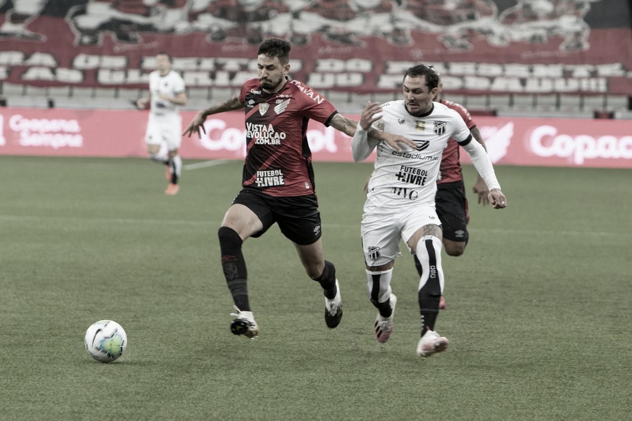 Athletico 0x0 Ceará (Clube Athletico Paranaense/Divulgação)