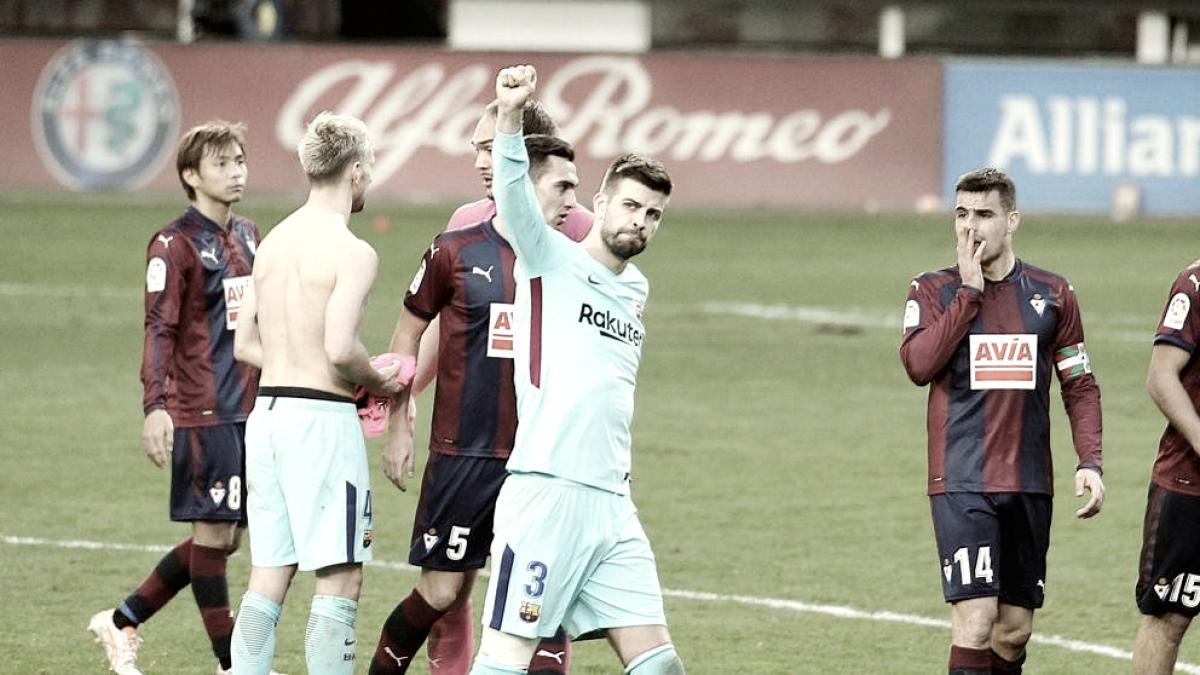 SD Eibar - FC Barcelona : puntuaciones del Eibar, jornada 24 Liga Santander