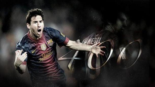 Messi chega aos 401 golos em apenas 525 jogos