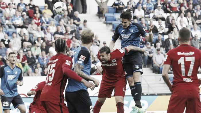Hoffenheim supera Frankfurt com gol no fim e assegura vaga inédita na Champions League