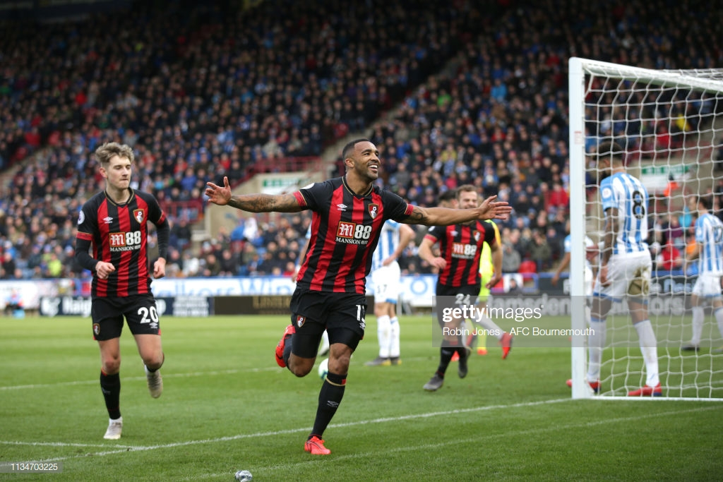 Huddersfield 0-2 Bournemouth: Wilson returns with a goal to send Terriers closer to drop
