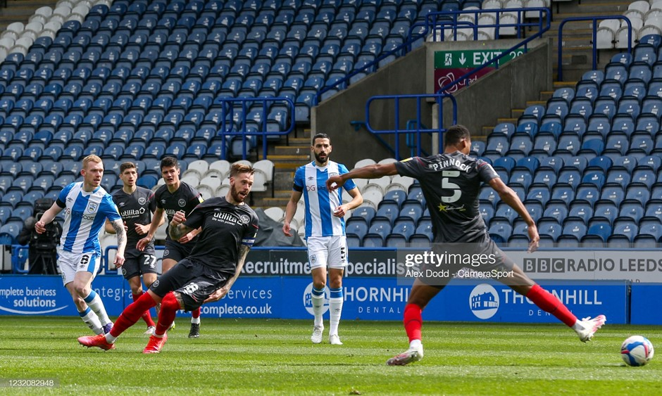 Huddersfield Town 1-1 Brentford: Bees' promotion hopes take another hit